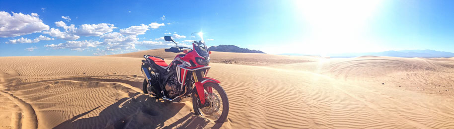Africa Twin CRF1000L Sand Dunes